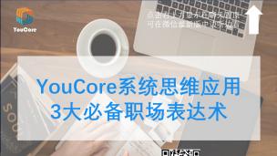 YouCore系统思维应用:3大必备的职场表达术