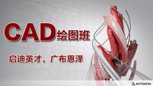 CAD經典繪圖實例視頻教程