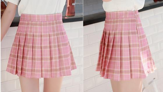 服装设计制版之百褶裙学生裙制版原理及方法