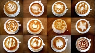 咖啡拉花基础教程